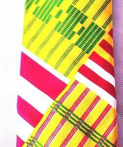 Kente Print Necktie